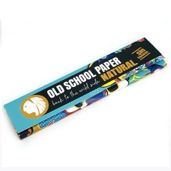 OLD SCHOOL PAPER NATURAL KING SIZE
